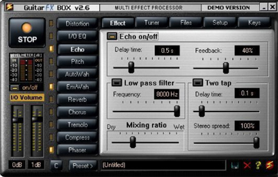 Guitar FX Box v.2.6